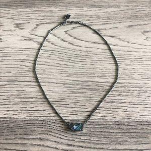 Kendra Scott abalone necklace